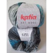 Laine Katia Art Wool 61 vendu en lot de 3 pelotes