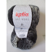 Laine Katia Art Wool 60 vendu en lot de 2 pelotes